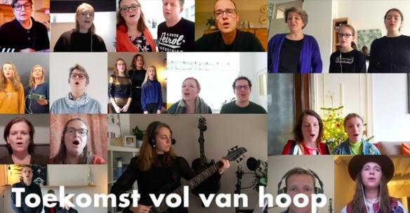 Kandelaarkerk Dordrecht zingt 'Toekomst vol van hoop'